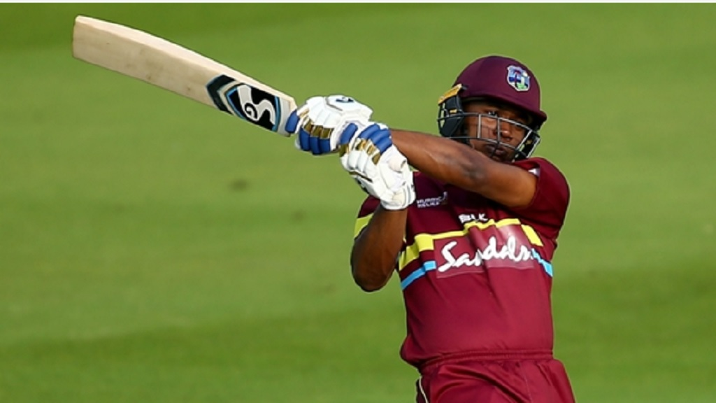 West Indies opener Evin Lewis