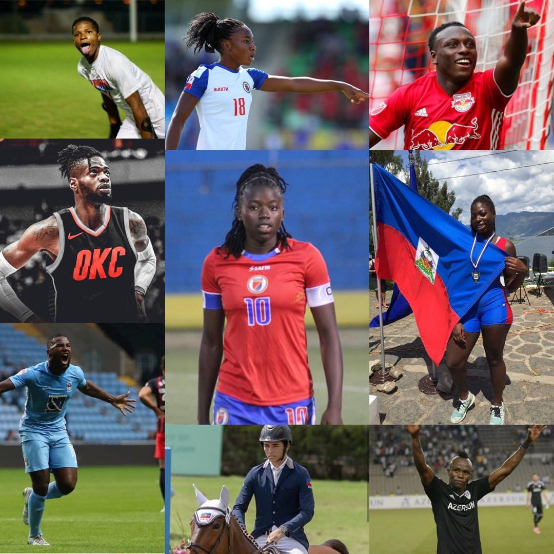 CLASSEMENT. Top 10 des athlètes Haïtiens ayant marqué l'année 2018