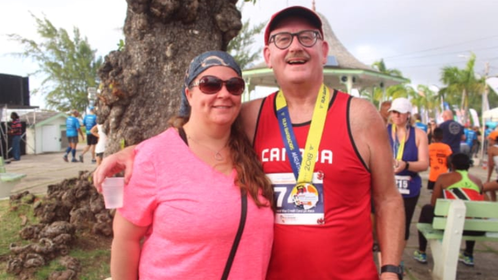 Scott and Erica Matheson from Toronto, Canada, participated in the