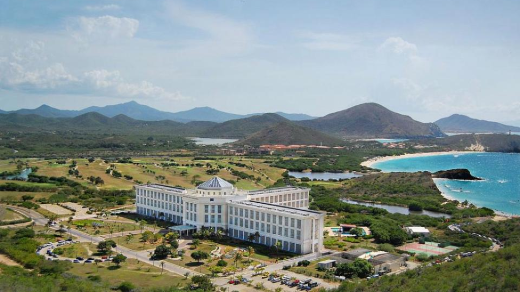 A still from a Sex Island promotional video reportedly shows the resort where the event will be held. The Sun is reporting that the resort is located on Isla Margarita.