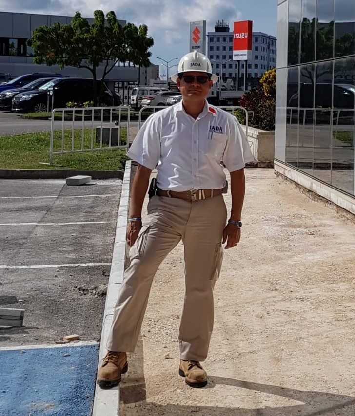Project Manager of the JADA Group, Vincent Jones. (GP)