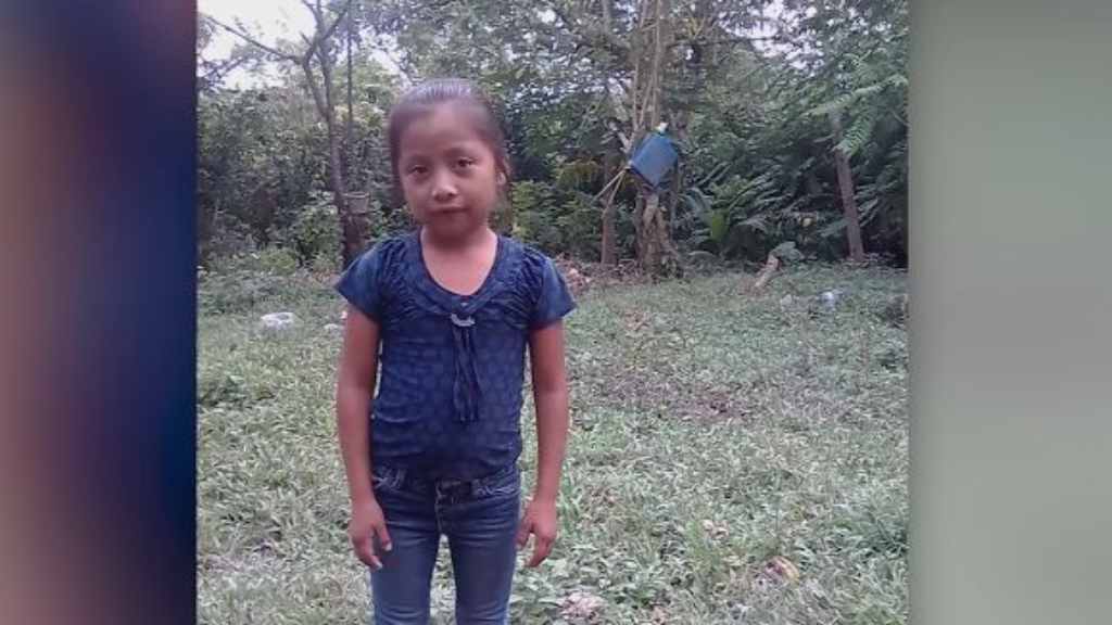7-year-old Jakelin Caal