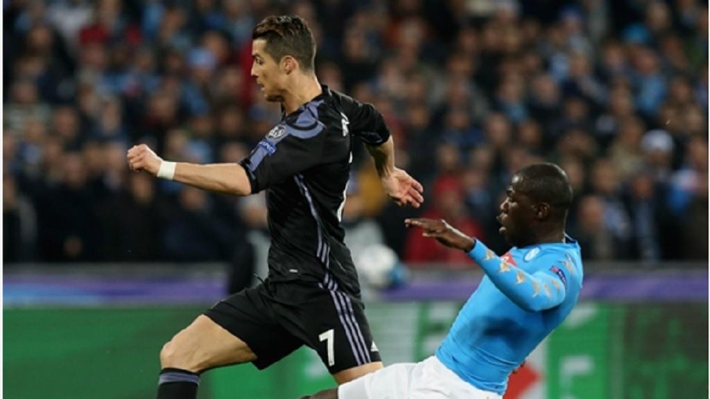 Cristiano Ronaldo and Kalidou Koulibaly.