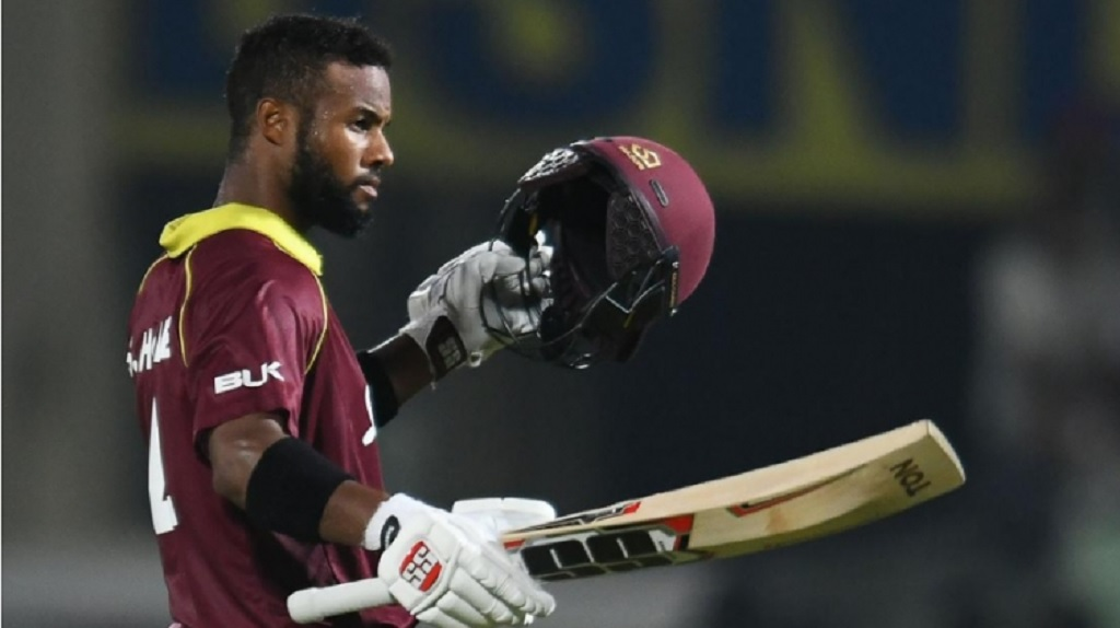 West Indies opener Shai Hope.