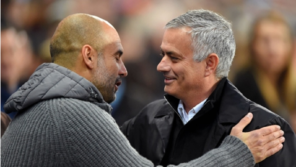 Pep Guardiola and Jose Mourinho.