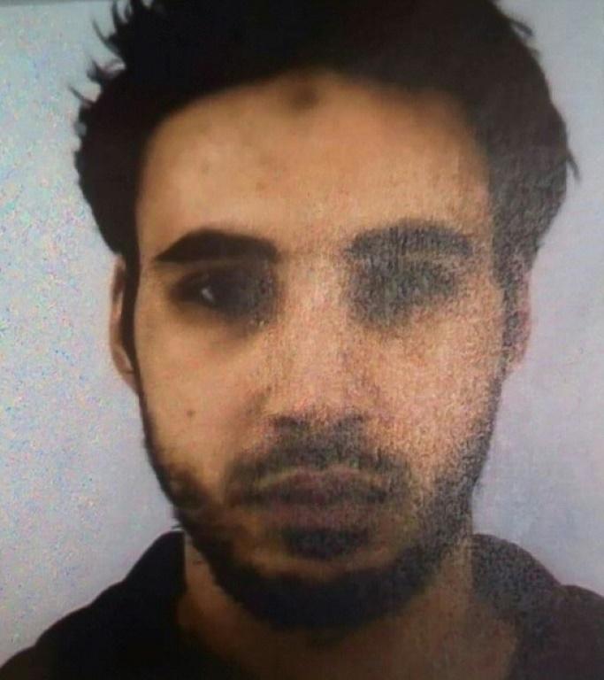 Une photo de Cherif Chekatt, l'auteur présumé de l'attentat du marché de Noël de Strasbourg, obtenue par l'AFP le 12 décembre 2018