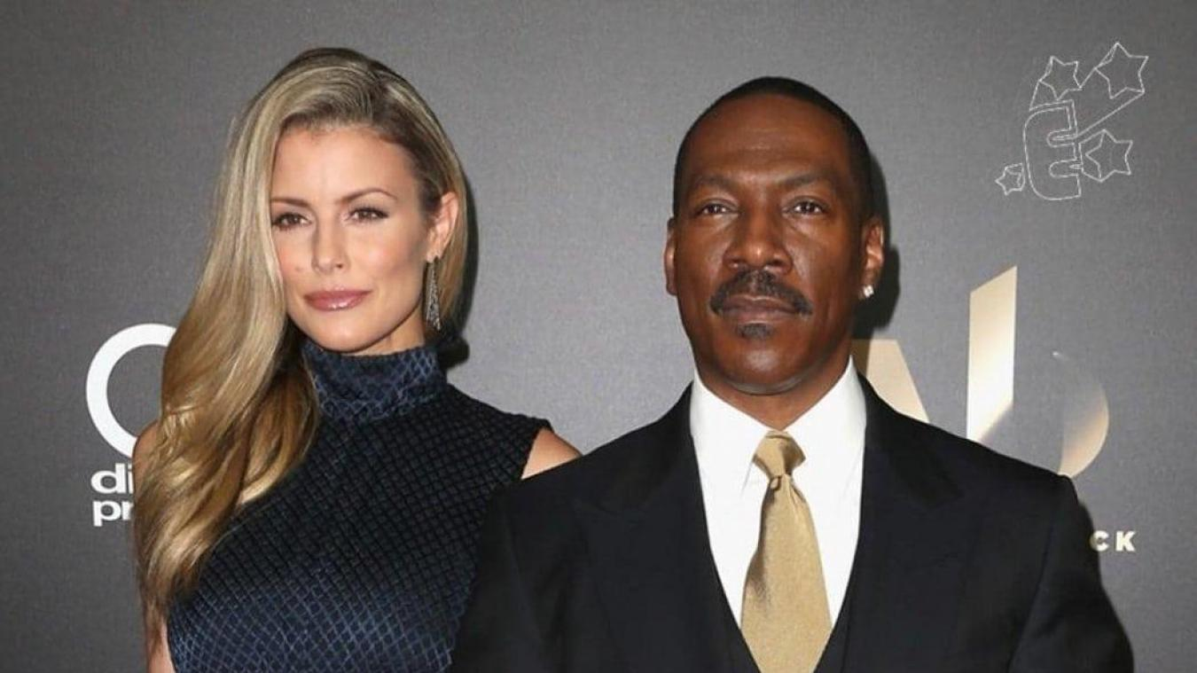 Paige Butcher et Eddie Murphy, le 6 novembre 2016. Photo AFP