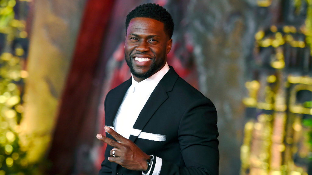 Kevin Hart arrives at the Los Angeles premiere of