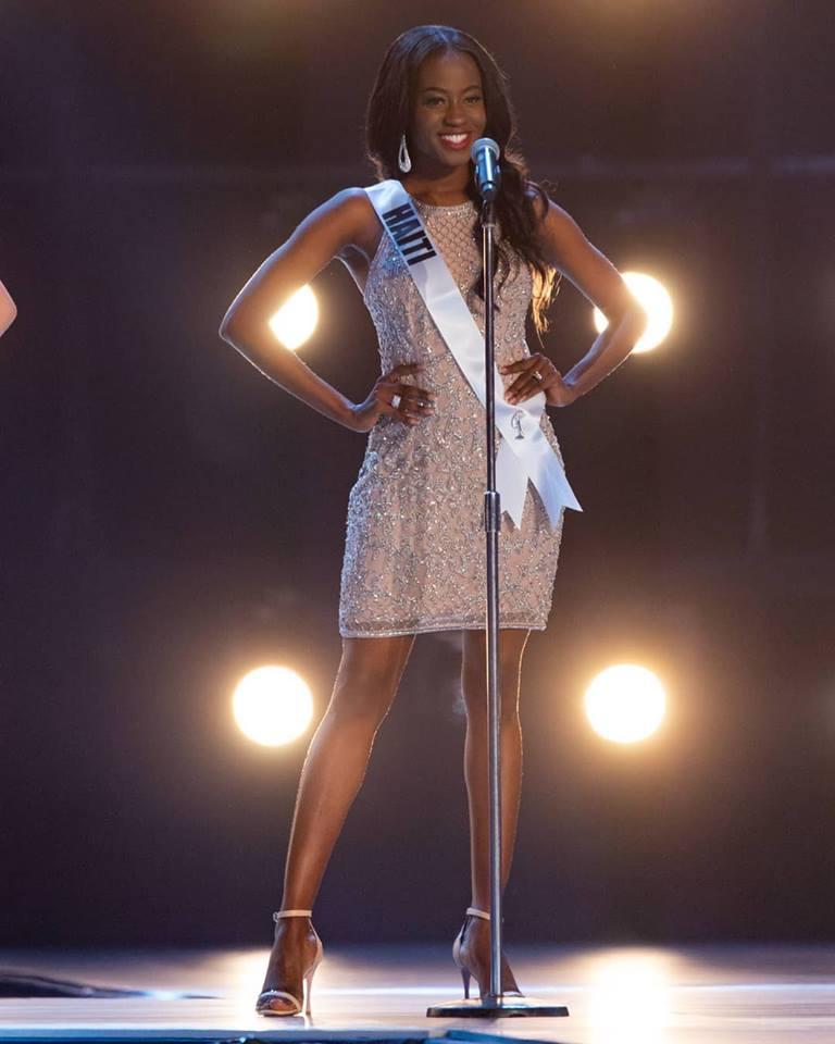 Samantha Colas à  l'ouverture des préliminaires du concours Miss Univers 2018