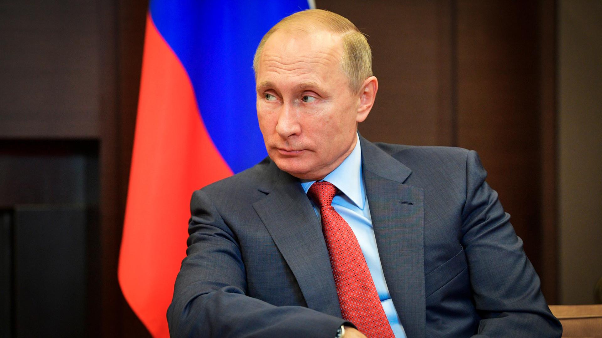 Vladimir Poutine, le président de la Russie.