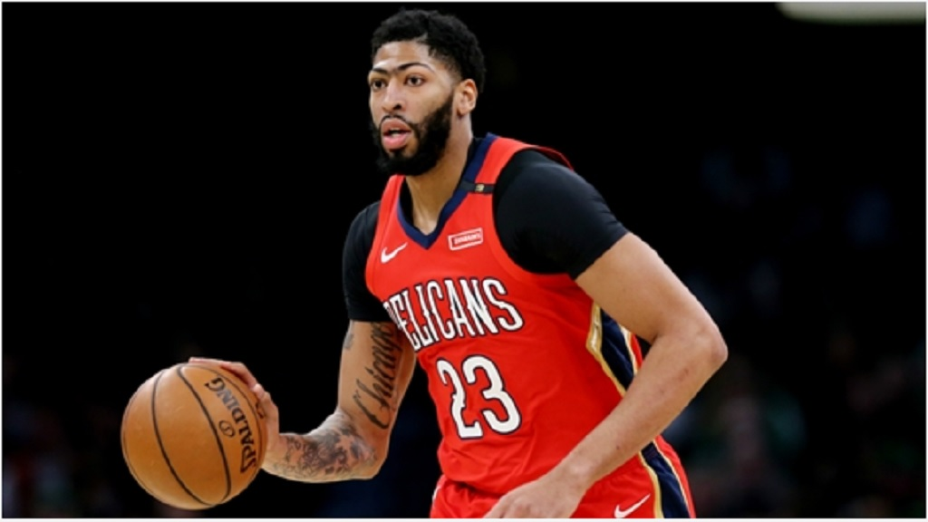New Orleans Pelicans star Anthony Davis.