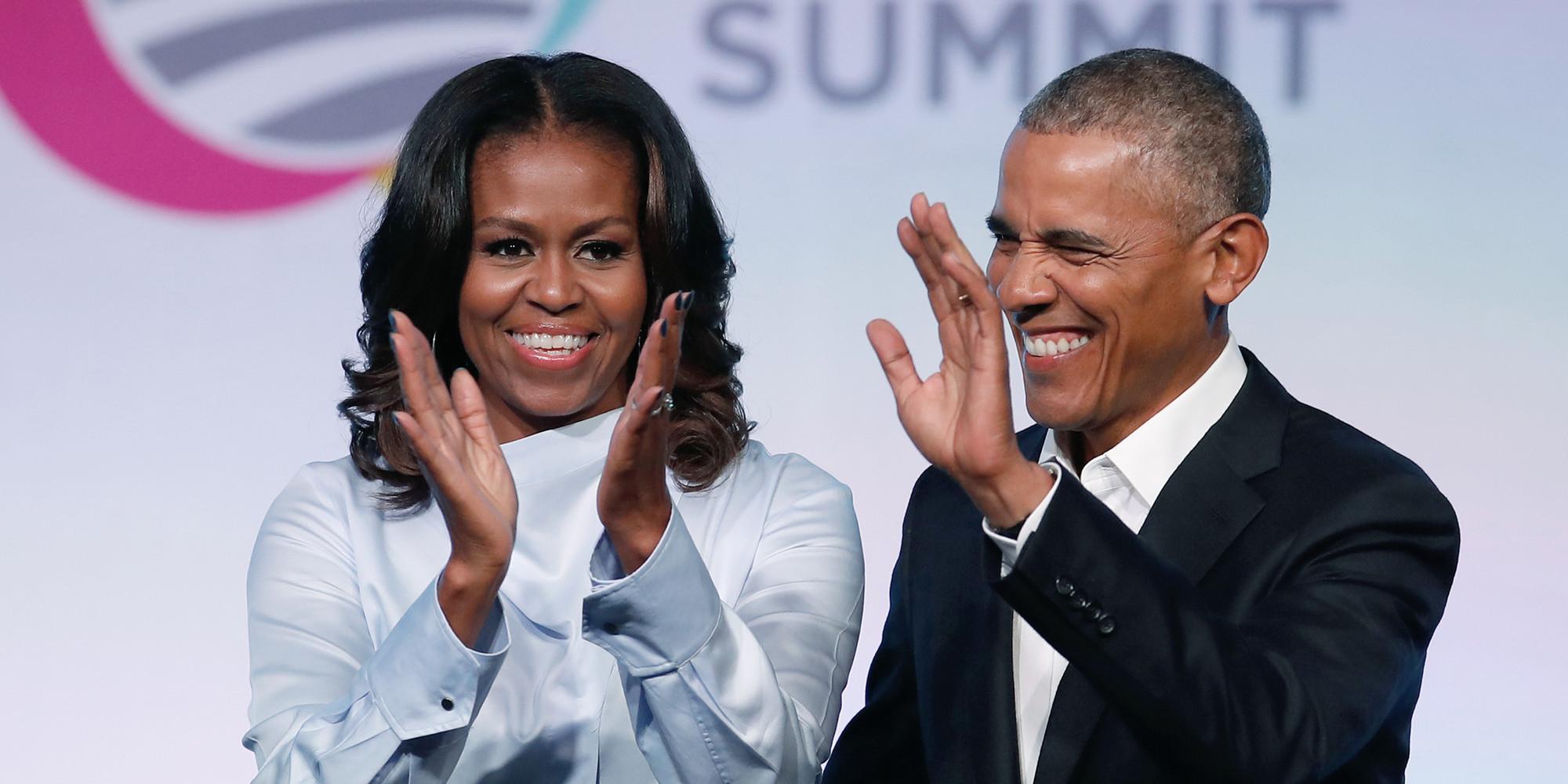 Barack et Michelle Obama, l'homme et la femme les plus admirés aux USA/ Photo: AFP