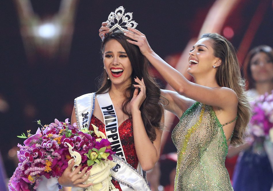 Miss Philippines Catriona Gray élue Miss Univers 2018 / Photo crédit: Foxnews.com