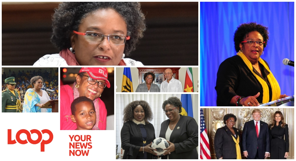 Some 2018 photos of Prime Minister Mia Mottley