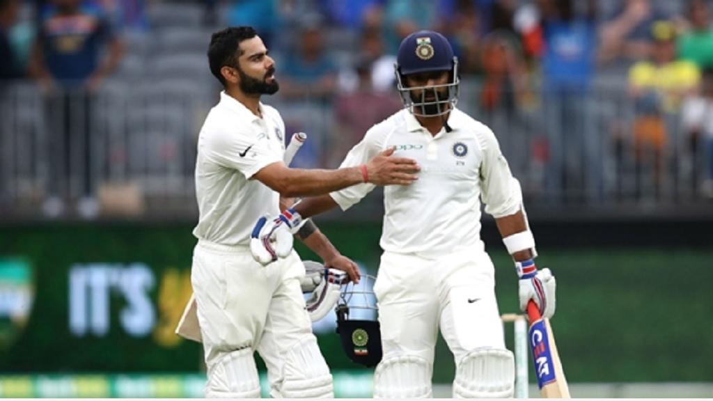 Virat Kohli and AjinkyaRahane.