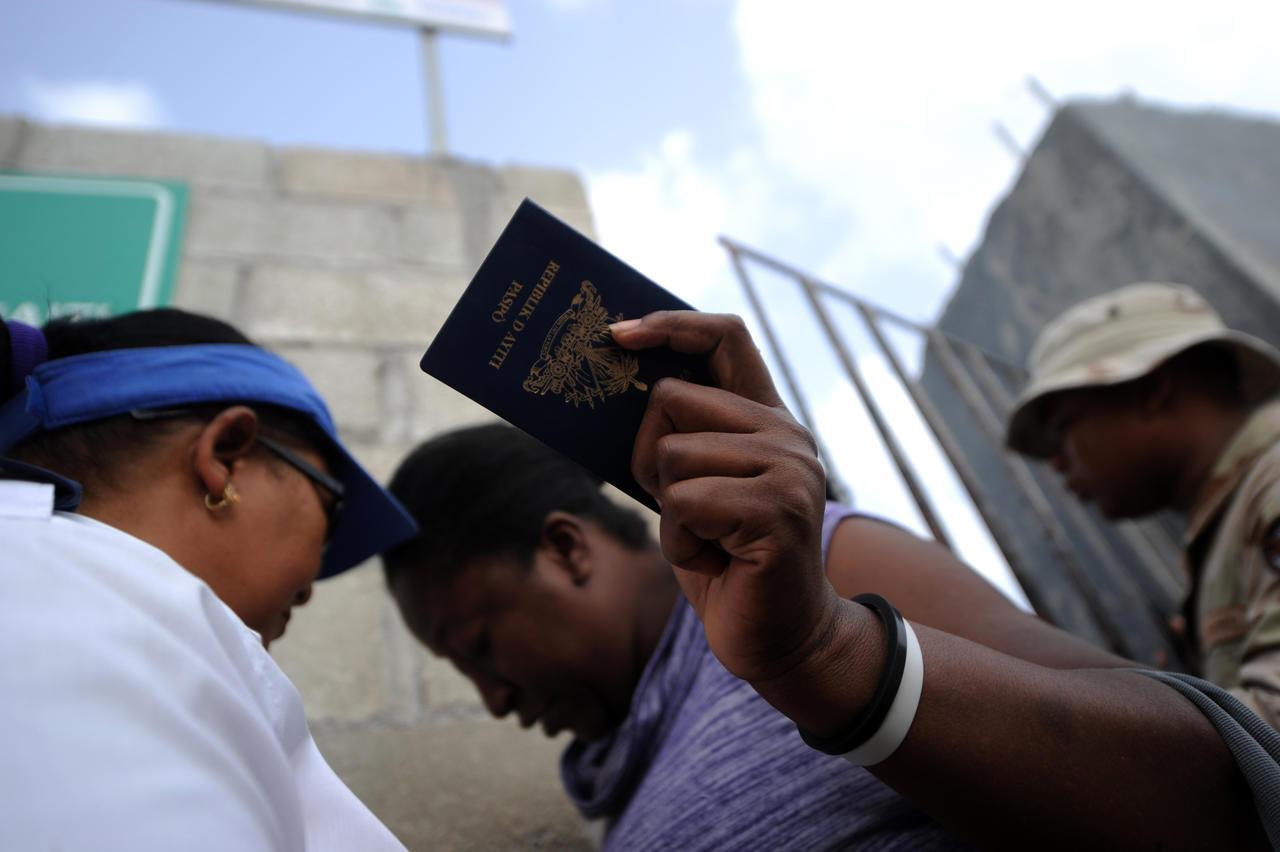 500 Haïtiens arrêtés en République Dominicaine   . Photo: CourrierInternational
