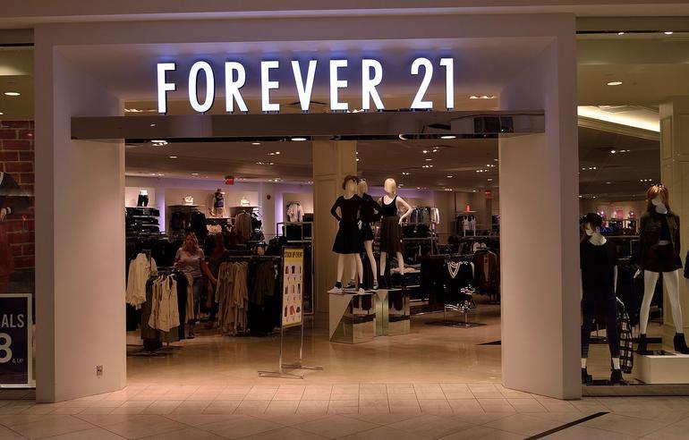 Forever 21 Yanks White Model from