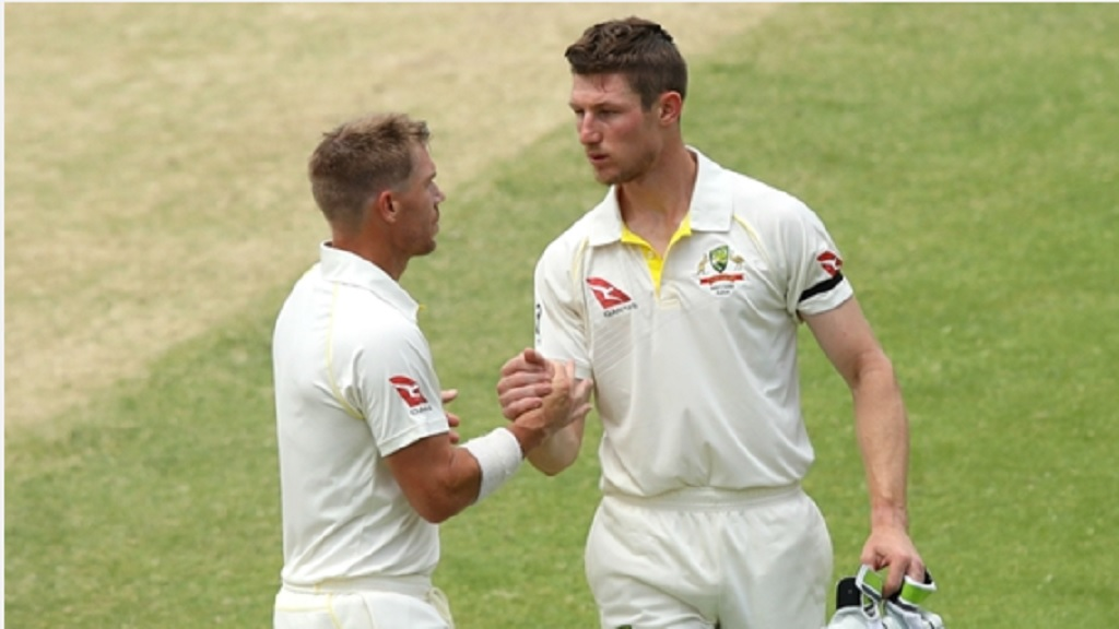 David Warner and Cameron Bancroft.