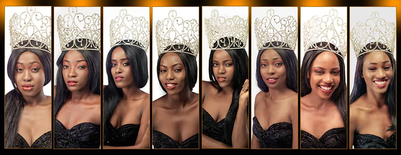 Les huit finalistes de Miss Anacaona 2018