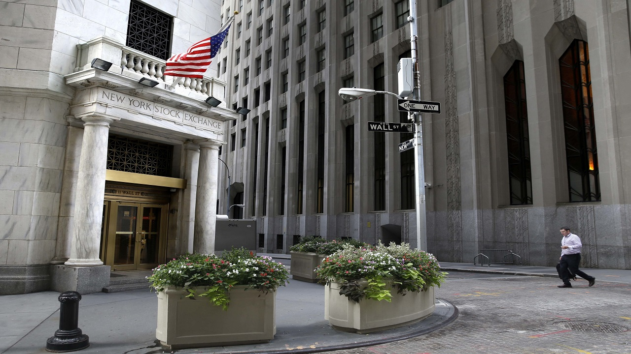AP photo of the New York Stock Exchange