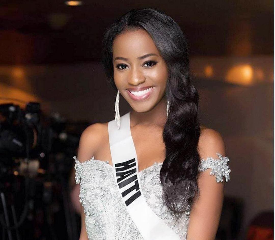 Samantha Colas, Miss Haiti 2018, Représentante d'Haiti à Miss Univers 2018. Crédit photo: ThaiCatWalk