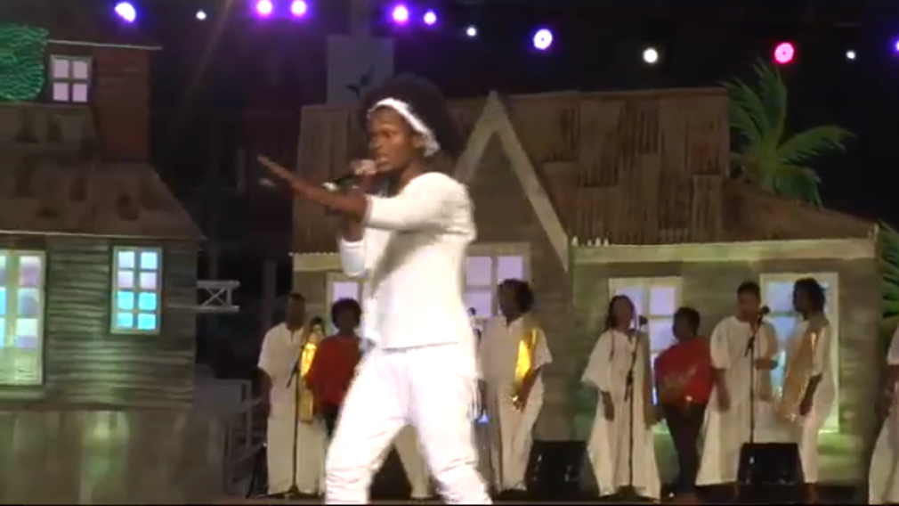 Helon Francis is the reigning Calypso Monarch