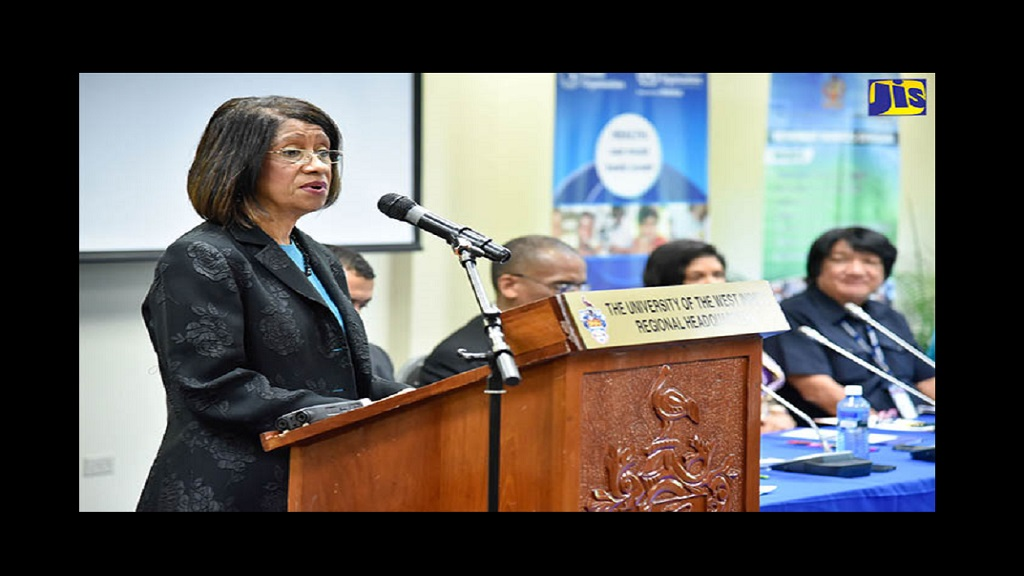 Sancia Bennett Templer. (Photo via Jamaica Information Service)