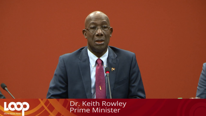 Photo: Prime Minister Dr Keith Rowley