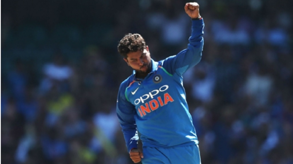 India spinner Kuldeep Yadav.