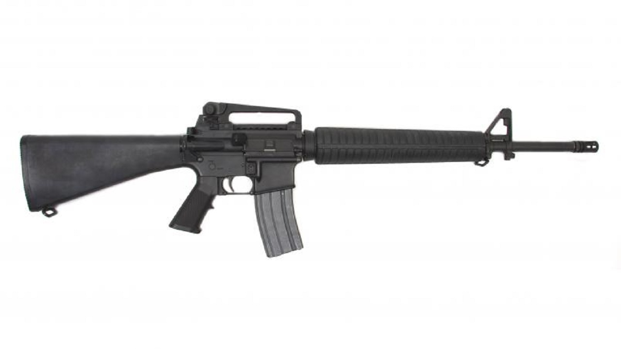 File photo of an M16 assault rifle
