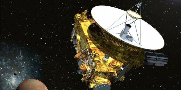 La sonde devait prendre 900 images en quelques secondes pendant qu'elle survolait en trombe Ultima Thule. © HANDOUT / NASA/JOHN HOPKINS UNIVERSITY / AFP