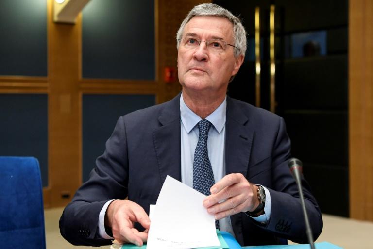 L'ex-chargé de mission de l'Elysée Alexandre Benalla le 19 septembre 2018 à Paris, avant une audition de la Commission du Sénat