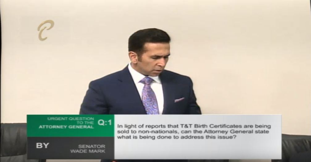 Photo: Attorney General Faris Al-Rawi said the issue of birth certificates being sold to non-nationals is being investigated by the police. The issue was raised on January 20, 2019, following a media report.