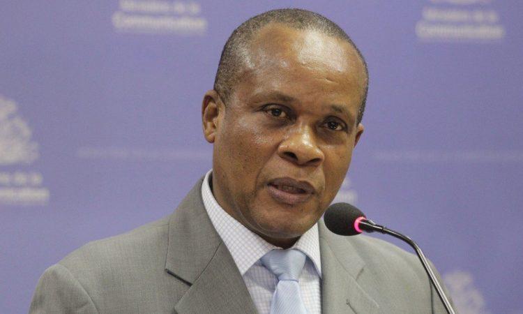 Ronald G. Décembre, l'actuel Ministre de l'Economie et des Finances./Photo: Ministère Communication