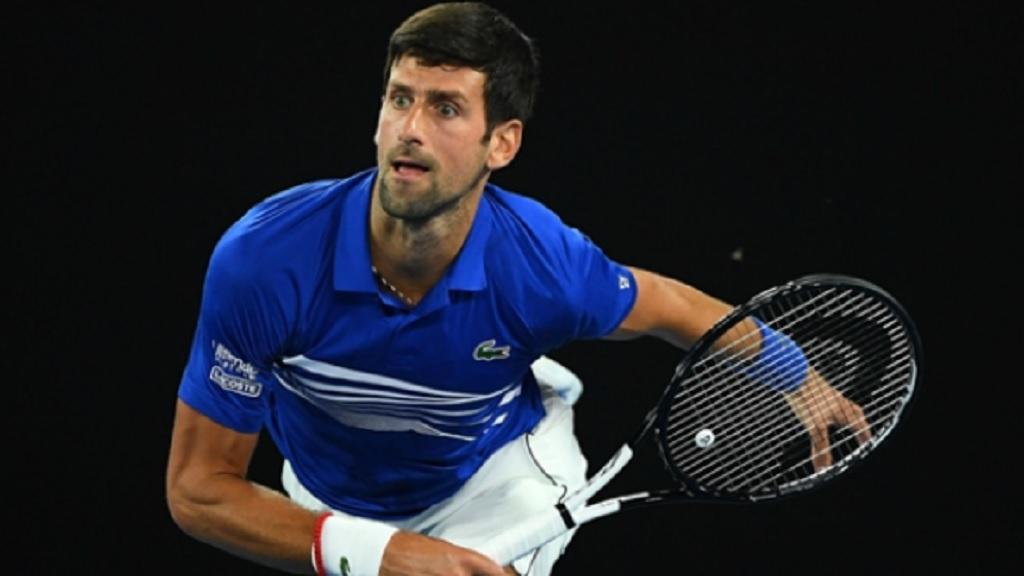 World number one Novak Djokovic.
