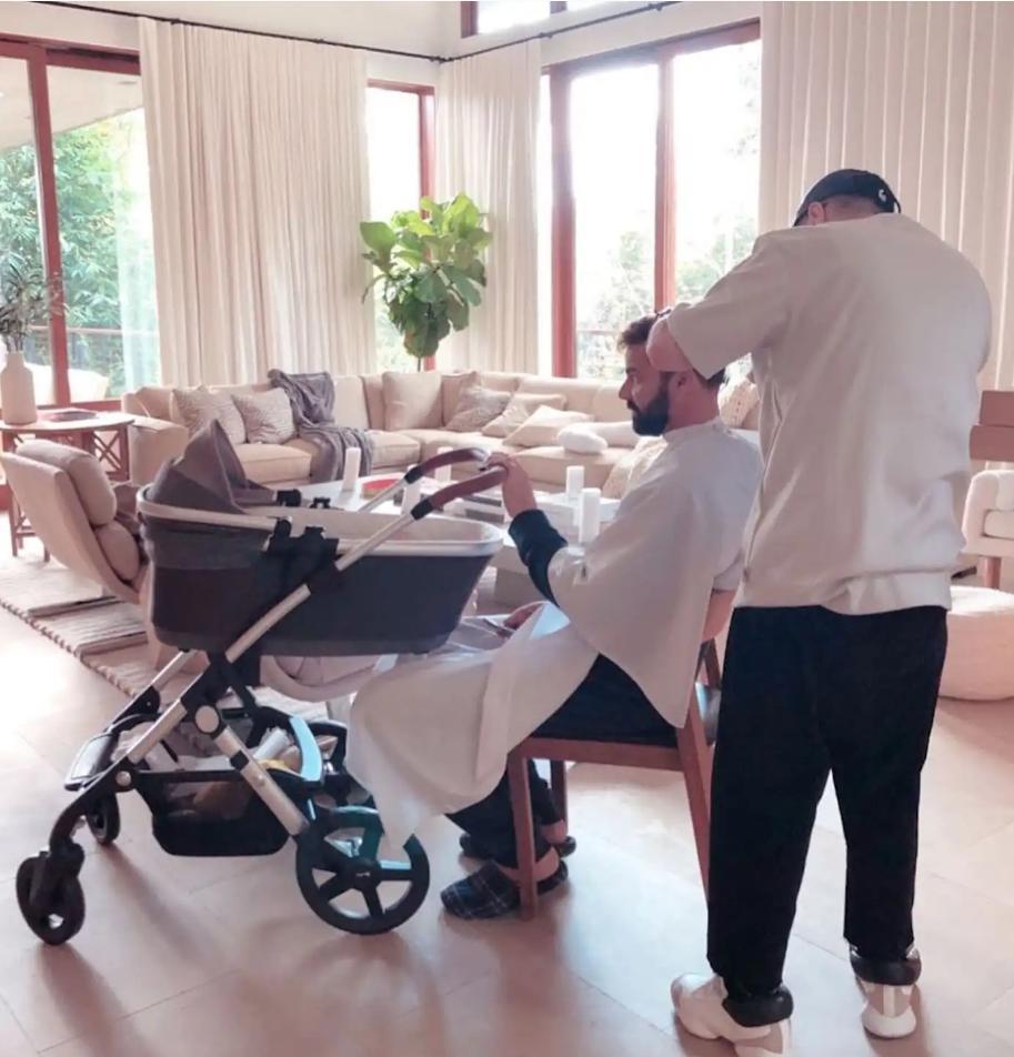 Ricky Martin et sa fille