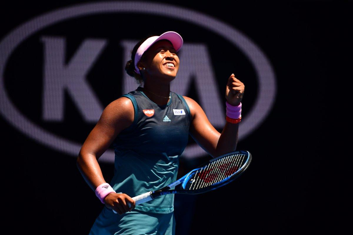 La Japonaise d'origine haïtienne a atteint son premier quart de finale d'open Australie. Photo: Australian Open