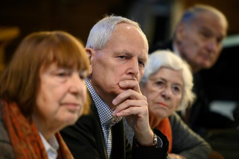 Ulrich Gantz dont le père a appartenu aux Einsatzgruppen participent le 17 janvier 2019 à Lausanne à une réunion organisée par la CICAD