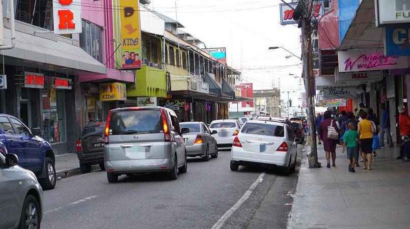 Photo: Frederick Street, Port of Spain is a busy area in downtown Port of Spain. The Police Service advises that meeting in busy areas or near a police station can help make sales safer, if meeting someone you do not know.