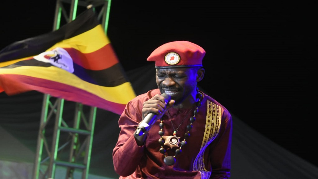 Bobi Wine of Uganda performs at the annual Rebel Salute reggae festival in St Ann, Jamaica. (PHOTOS: Marlon Reid)