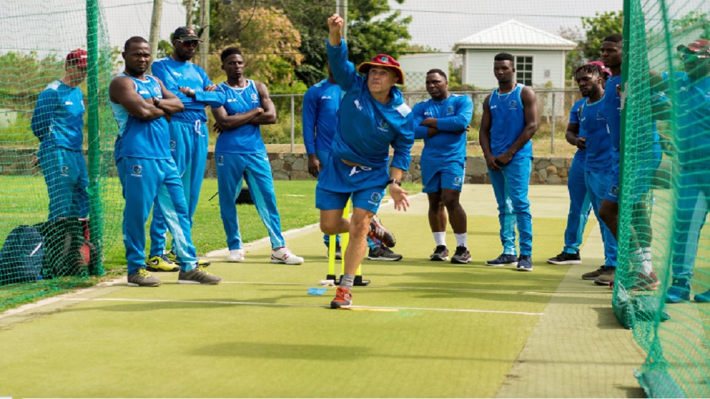 Richard Pybus, newly appointed interim coach of the West Indies cricket team.
