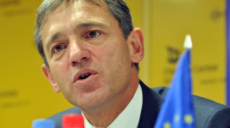 Vincent Degert, l'ambassadeur de l'Union Européenne accrédité en Haïti Crédit Photo : mc.rs