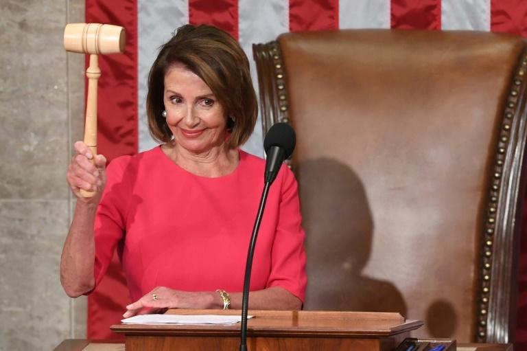 La démocrate Nancy Pelosi