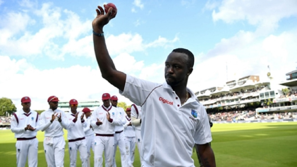 West Indies pacer Kemar Roach.