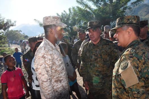 La sécurité renforcée à la frontière après la mort d'un soldat. Photo: Diario Libre