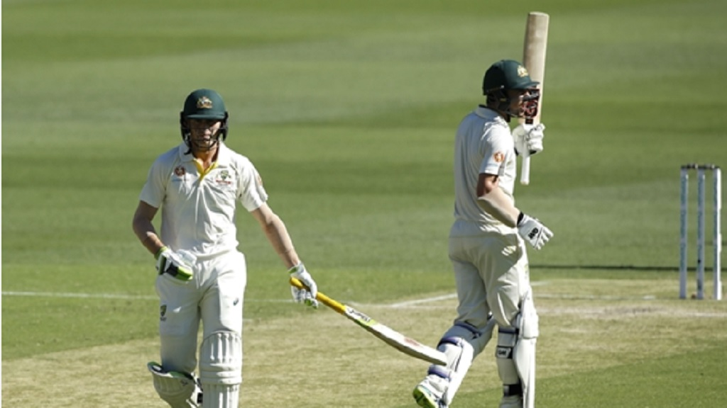 Australia batsmen Travis Head and  Marnus Labuschagne