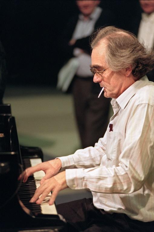 Michel Legrand sur scène le 23 octobre 2004 au festival international de la musique à Auxerre