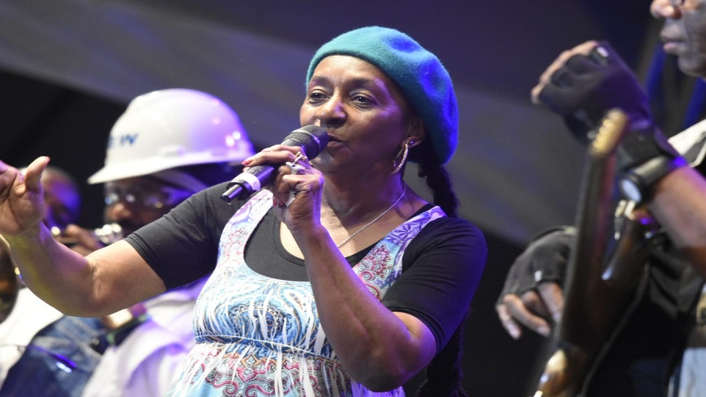 Veteran reggae singer Dawn Penn performs at Rebel Salute 2019. (PHOTOS: Marlon Reid)