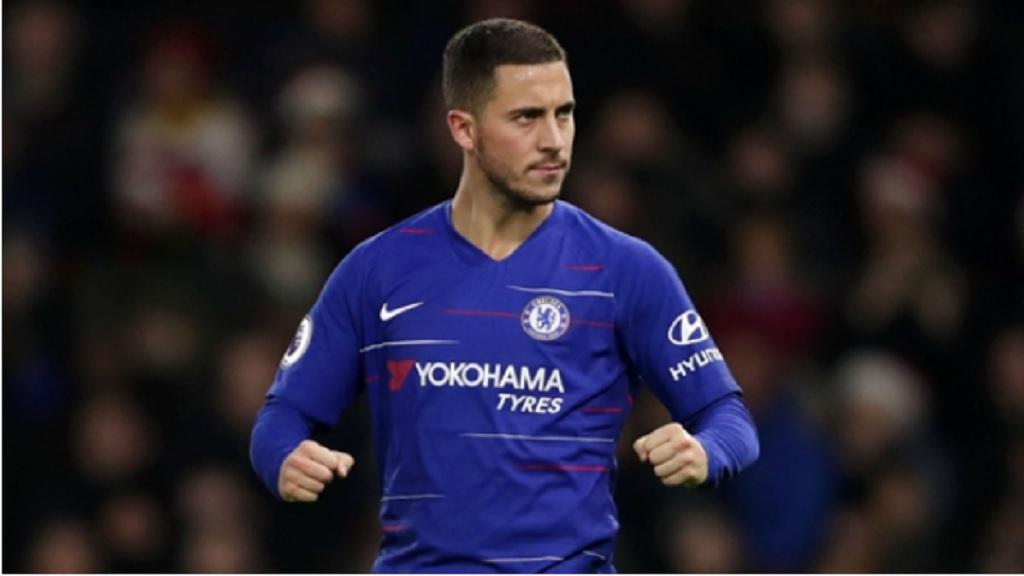 Chelsea's Eden Hazard.