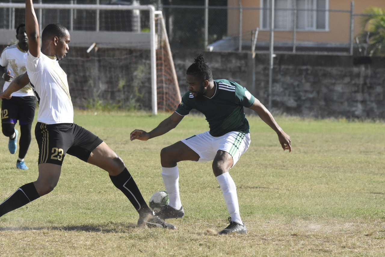 The charity game, which was played on the grounds of Campion College last Sunday, saw 'Team Jamaica' beat 3-2 'Team USA' on penalties after the match ended 1-1 in regulation time. (Photos: Marlon Reid)